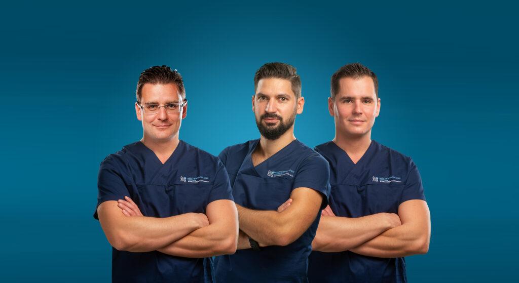 Sebészek csoportképe